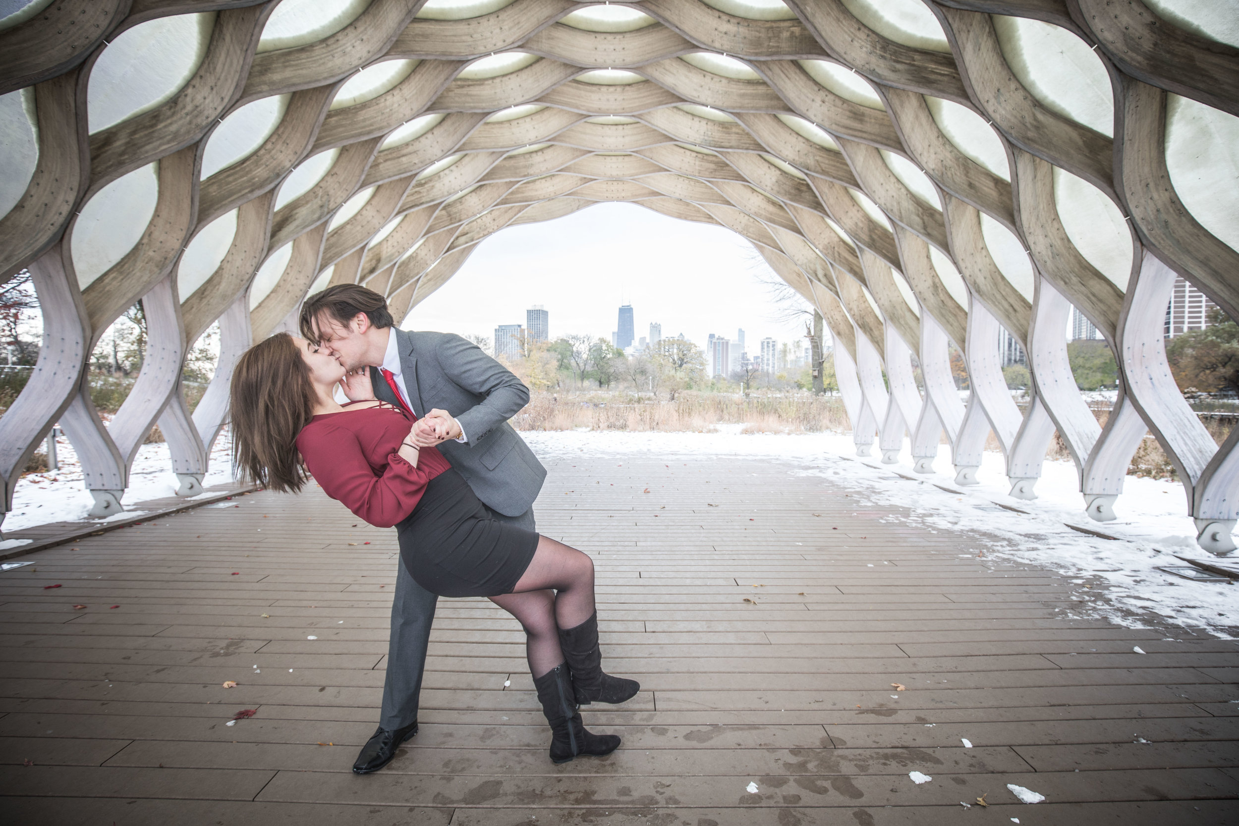Chicago Engagement Session in Lincoln Park