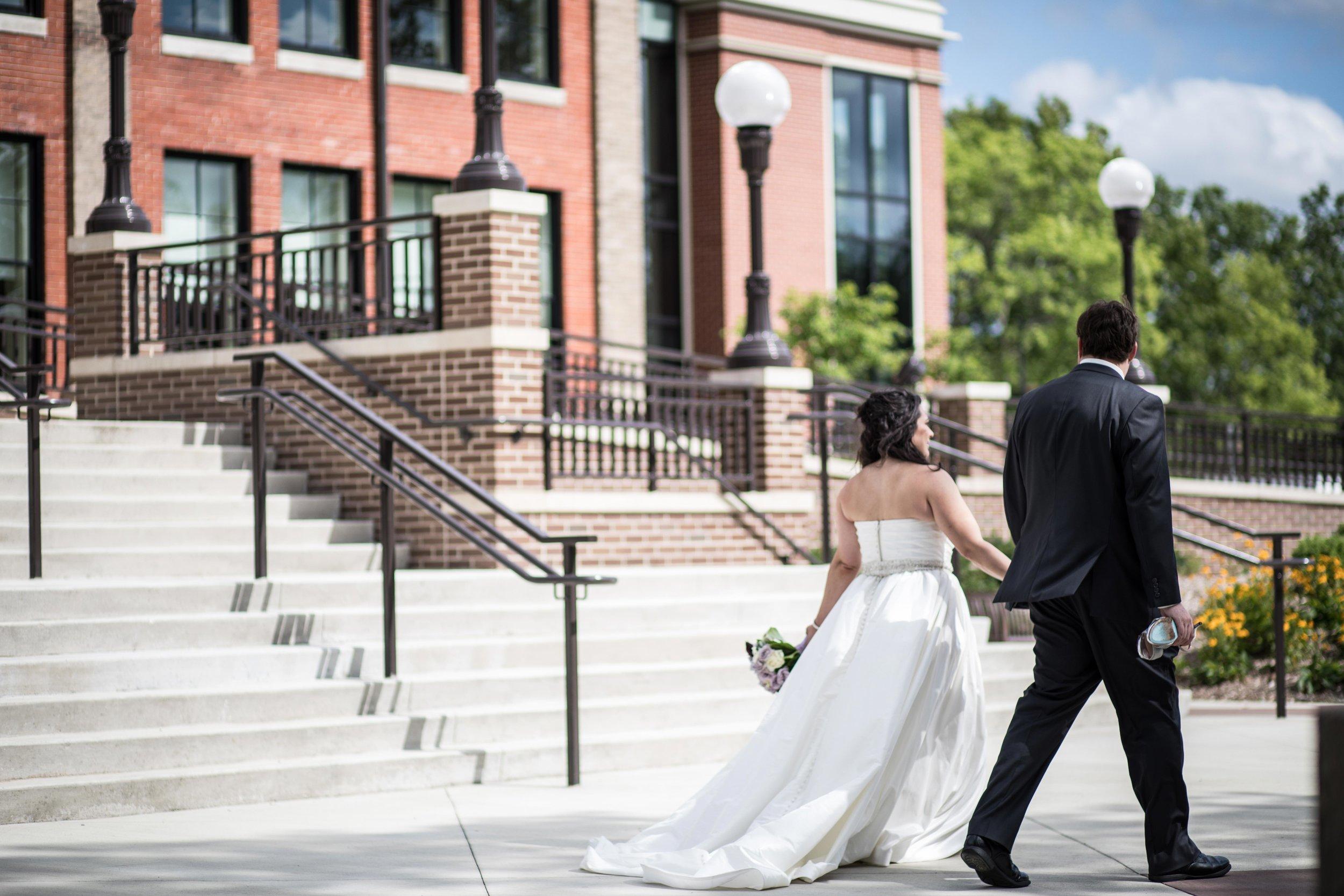 WMU Campus Wedding