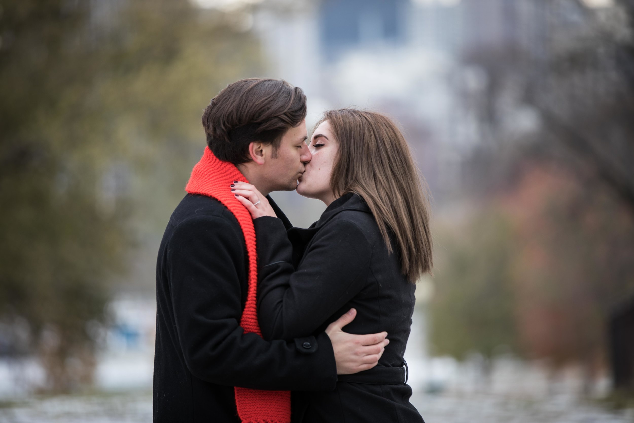 A Kiss in the City