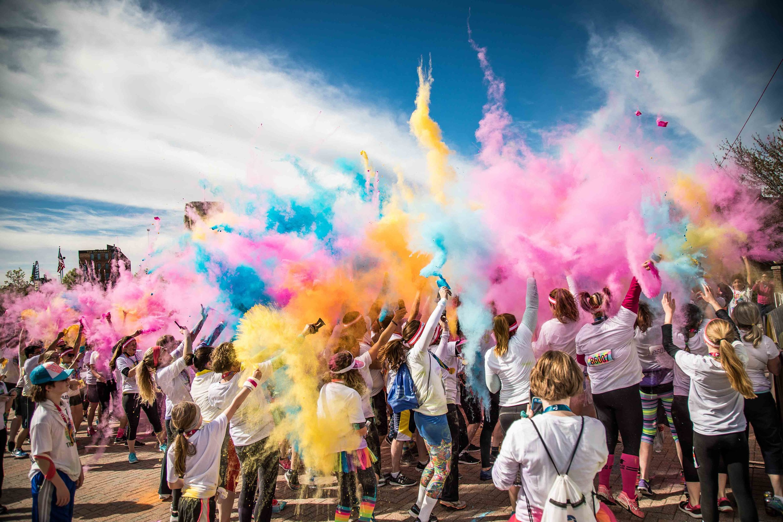 Kalamazoo Color Run Photography