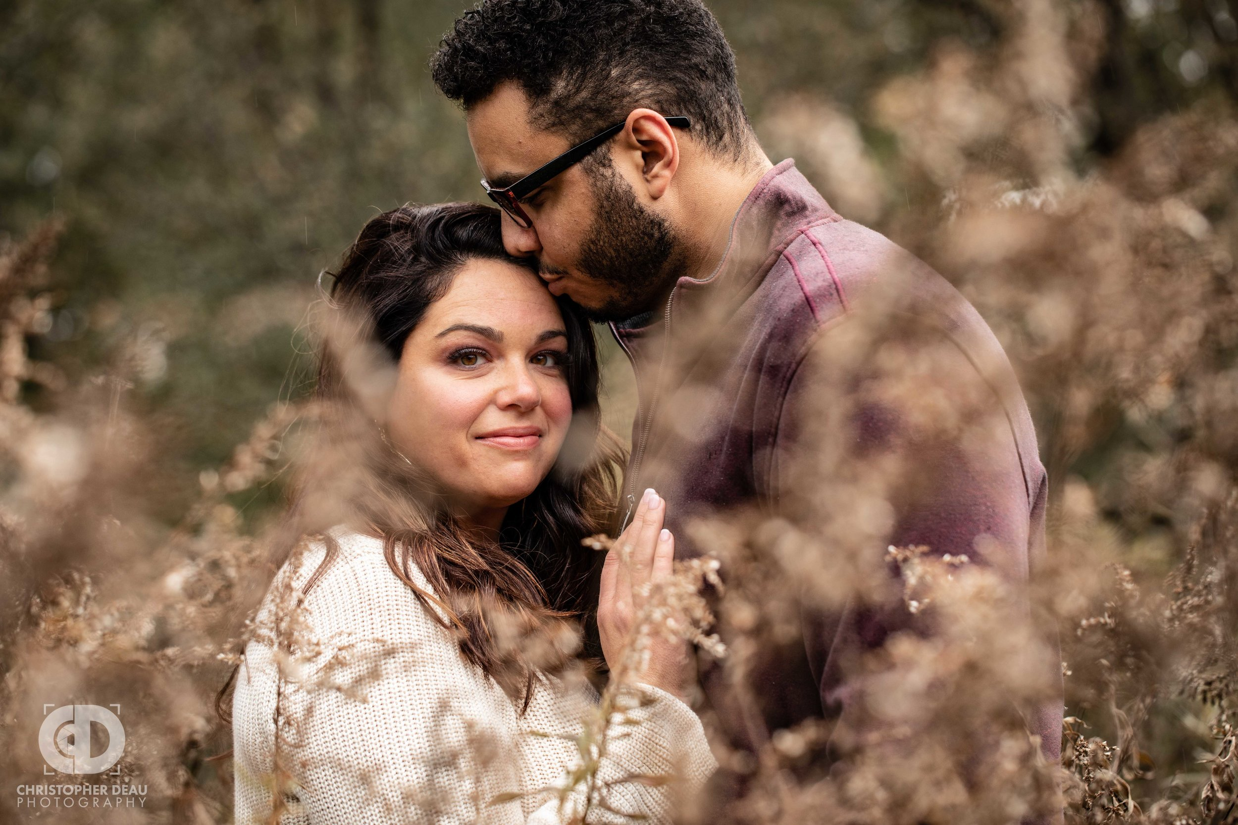 Asylum Lake Preserve Engagement Photo Session