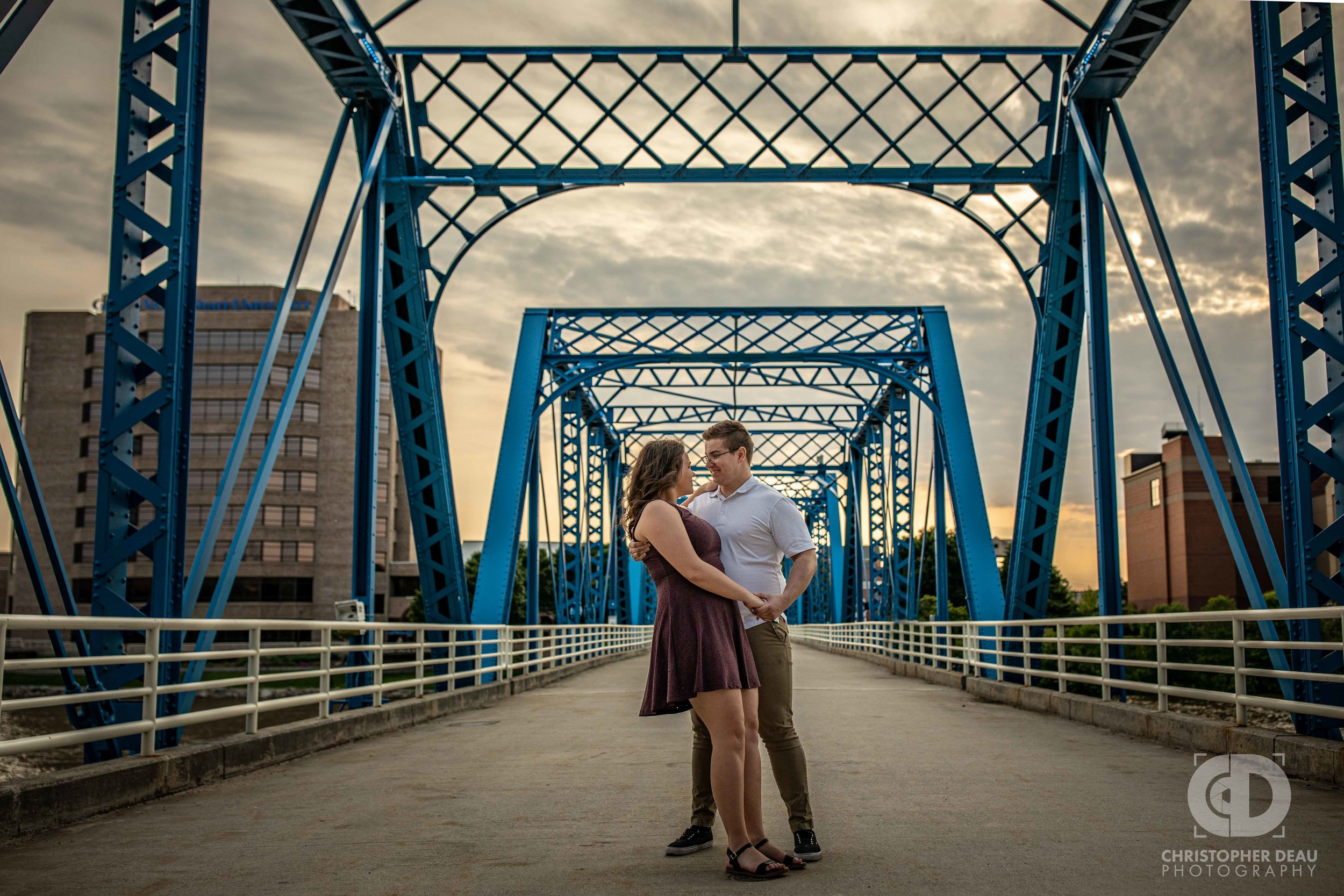 Couple on the blue bridge.jpg
