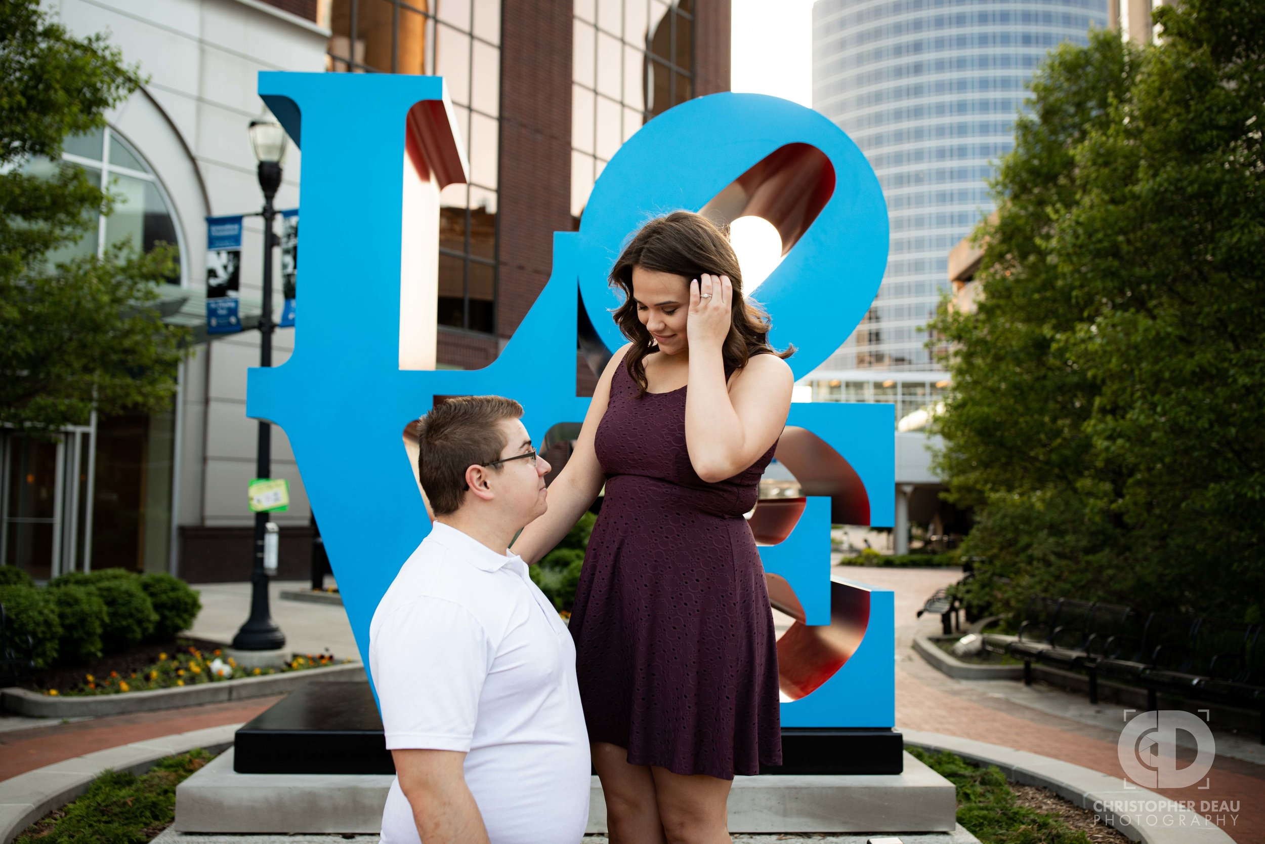 engagement photos grand rapids love sculpture.jpg