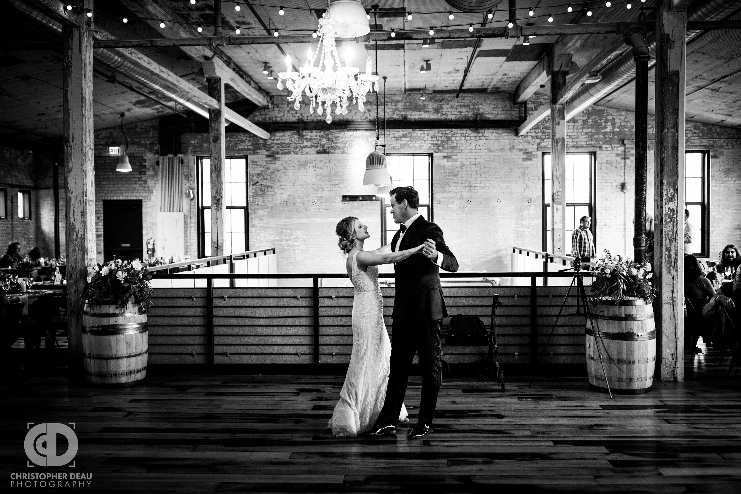 First dance and journeyman distillery
