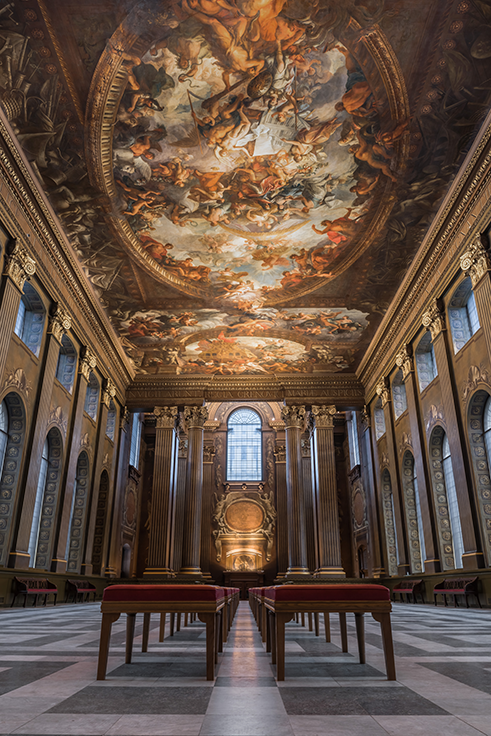The Painted Hall, Old Royal Naval College , Greenwich c Nikhilesh Haval