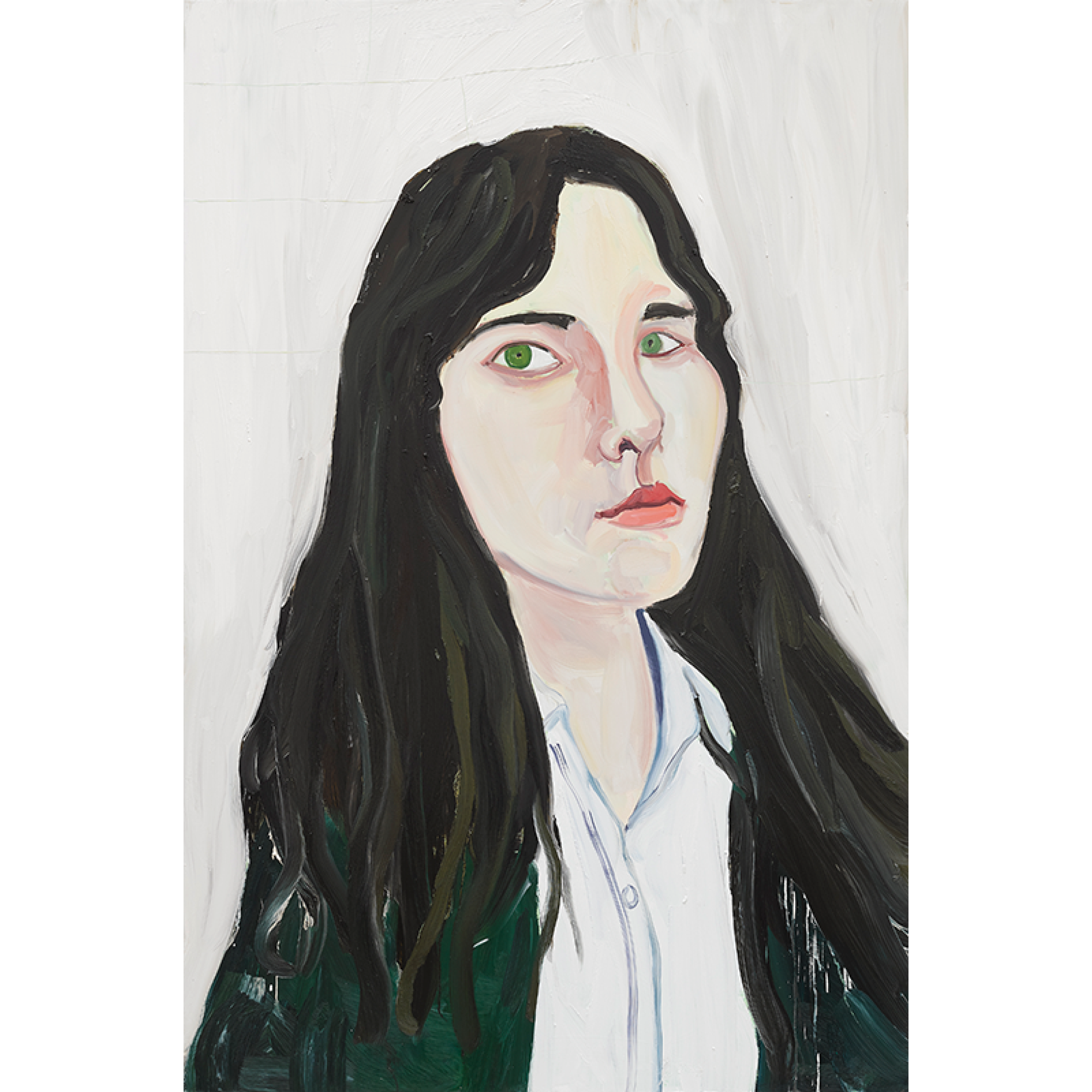 Big Head , 2019, oil on board cChantal Joffe Courtesy of the artist and Victoria Miro