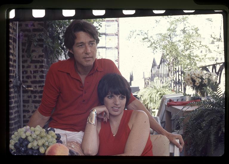 Halston with friend Liza Minnelli c The Sundance Institute