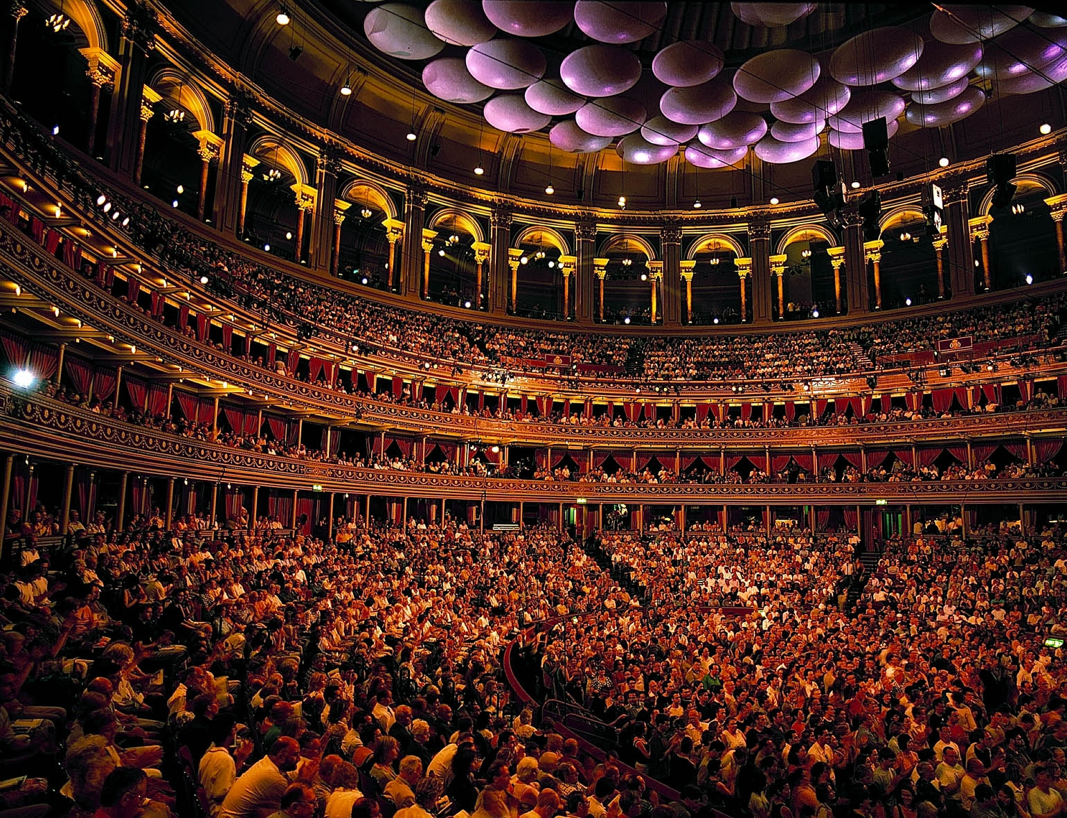 BBC Proms audience at the Royal Albert Hal c Chris Christodoulou