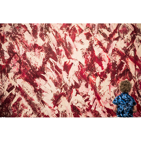 Another Storm, 1963 Lee Krasner: Living Colour, Barbican Art Gallery c Tristan Fewings/Getty Images