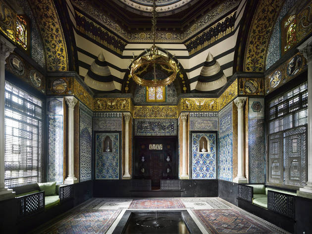 The Arab Hall c Leighton House Museum, RBKC. Image courtesy of Will Pryce