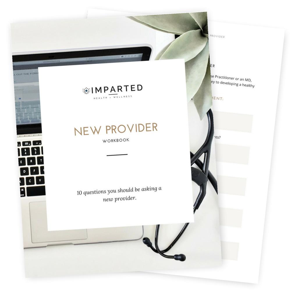 New Provider Workbook
