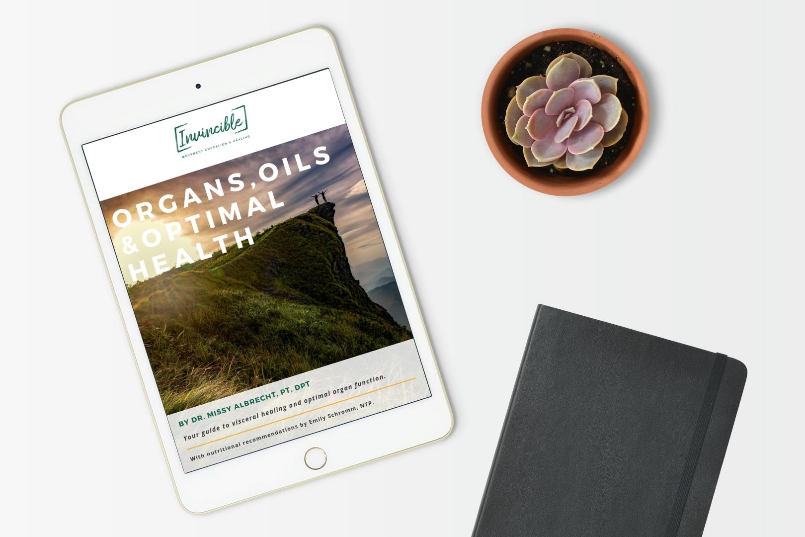 Organs, Oils and Optimal Health