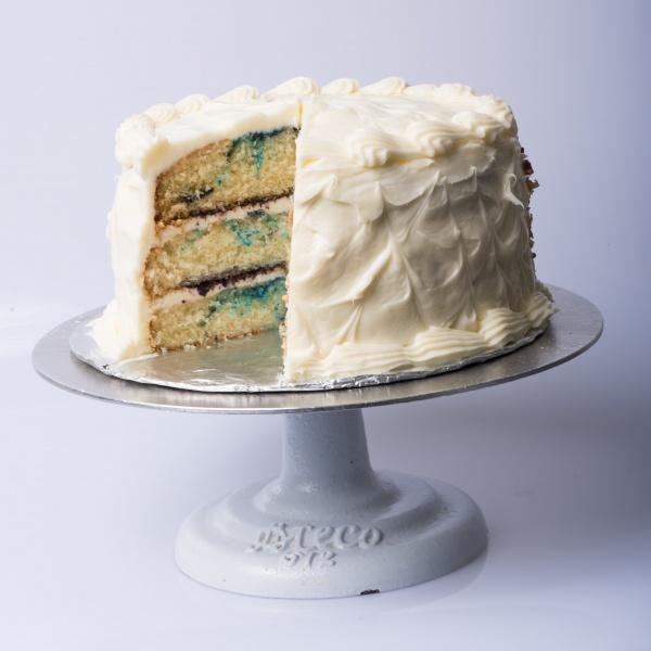 Blueberry Velvet Cake