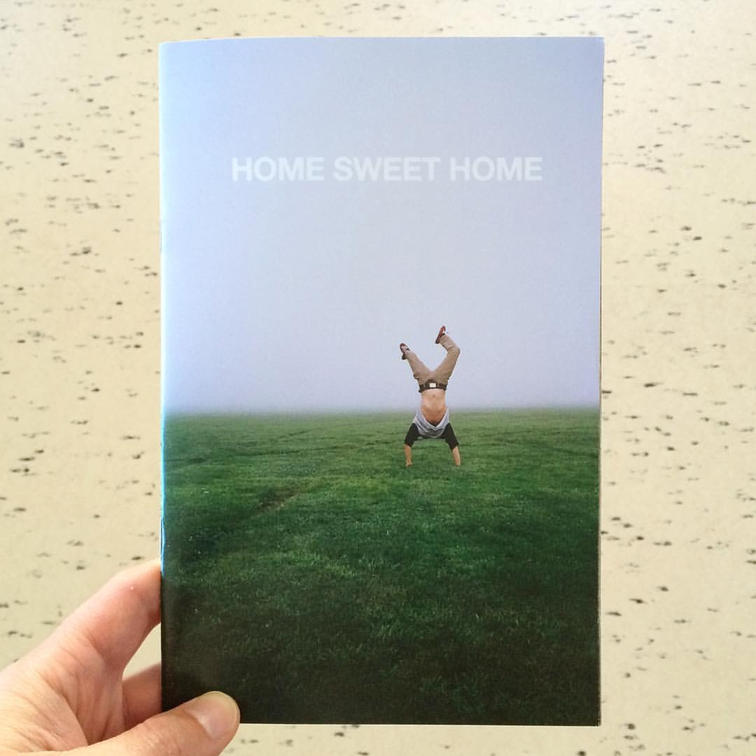 "Coming to #LAABF :: ""Home Sweet Home"", a new split zine by Bongripsinthehood & Josh Terris about their hometown, Saugus, California. #zinereport"