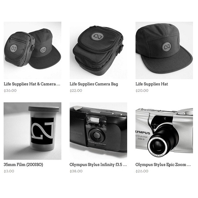 9 Olympus Stylus cameras just went up on NIGHTED.Storenvy.com ((link in bio)) - also restocked 200 speed film¡¡