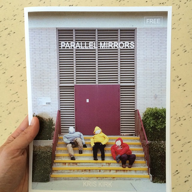 Found some extra copies of Parallel Mirrors, the large format zine from Kris Kirk's surprise show in LA- next 10 orders get one¡¡