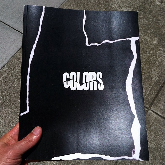 Colors, the new large format book by @brvinfreeze drops this Saturday at the @zipgunforlife LA show, and will be available online shortly after- more info and a preview coming soon¡¡