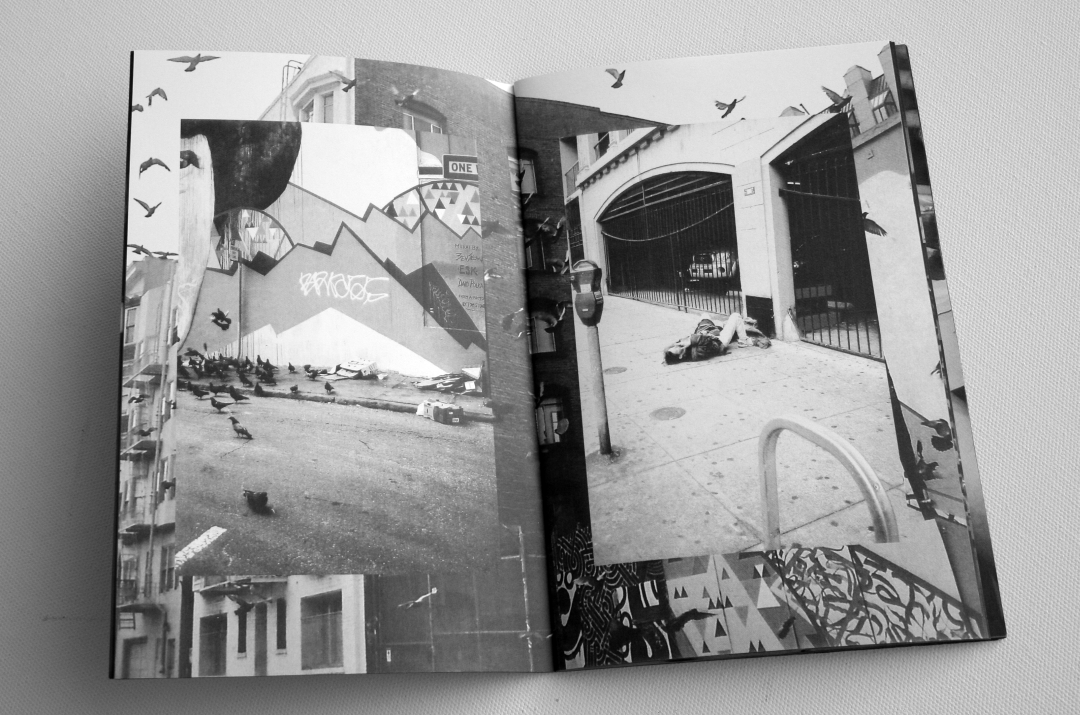 Spread from   AIGHTY's new 60 page zine, Cash Only