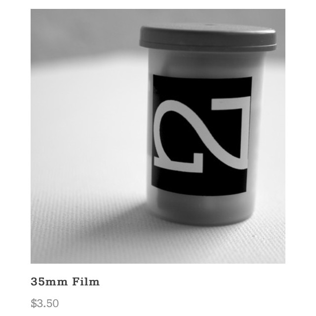 Just restocked the store w #35mm film:: 200 & 400 iso Kodak n Fuji, choose from expired or new::   NIGHTED.Storenvy.com