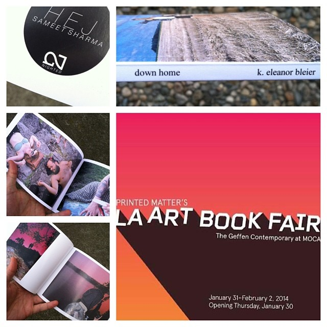 A handful of advance copies of new books 'down home' by @kebleier and 'HEJ' by @sameetsharma are gonna be at LA Art Book Fair while they last! Go see the homies at the the @alovetoken table- Y29!