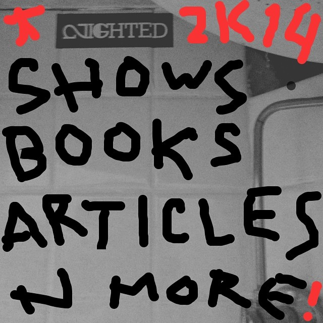 Big shit coming this year:: New books from K. Eleanor Bleier, Sameet Sharma, AIGHTY, n many others:: Shows in Seattle, Oakland, LA, New York, n anywhere else we can:: Hella new articles n features coming to the website:: Thank u all for being down with #NIGHTED