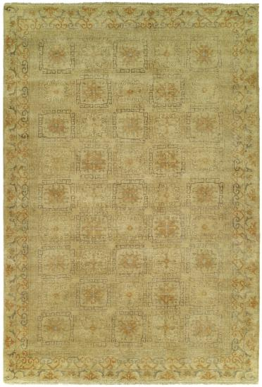 Rug #003805 Retail: $3,811.00 Sale: $1,899.00 Size: 6'x9' Color: Ivory/Ivory Hand Knotted Wool Made in India