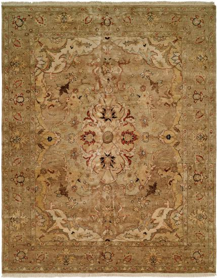 Rug #003893 Retail: $1,702.00 Sale: $1,191.00 Size: 4'x6' Color: Multi Hand Knotted Wool Made in India