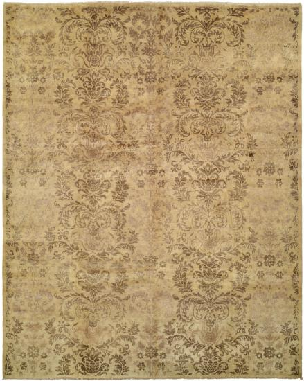 Rug #003933 Retail: $2,294.00 Sale:$1,599.00 Size: 4'x6' Color: Kentucky Zinc Hand Knotted Wool Made in India
