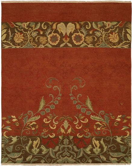 Rug #003564 Retail: $1,110.00 Sale: $777.00 Size: 4'x6' Color Caspian Hand Knotted Wool Made in India