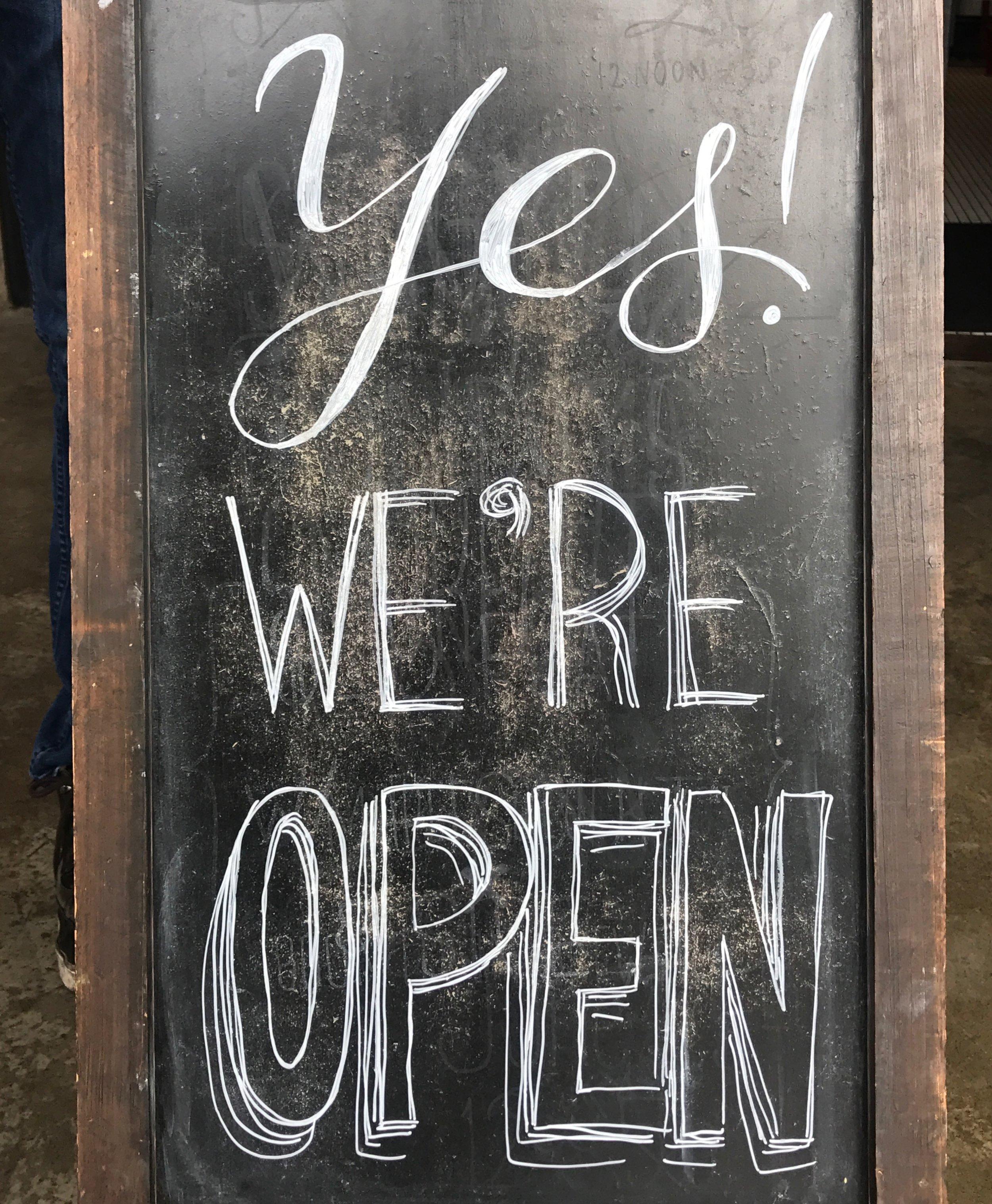Yes We're Open 2.JPG