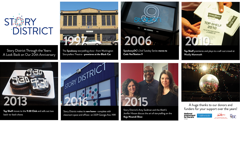 Nonprofit Rebranding Graphic Design