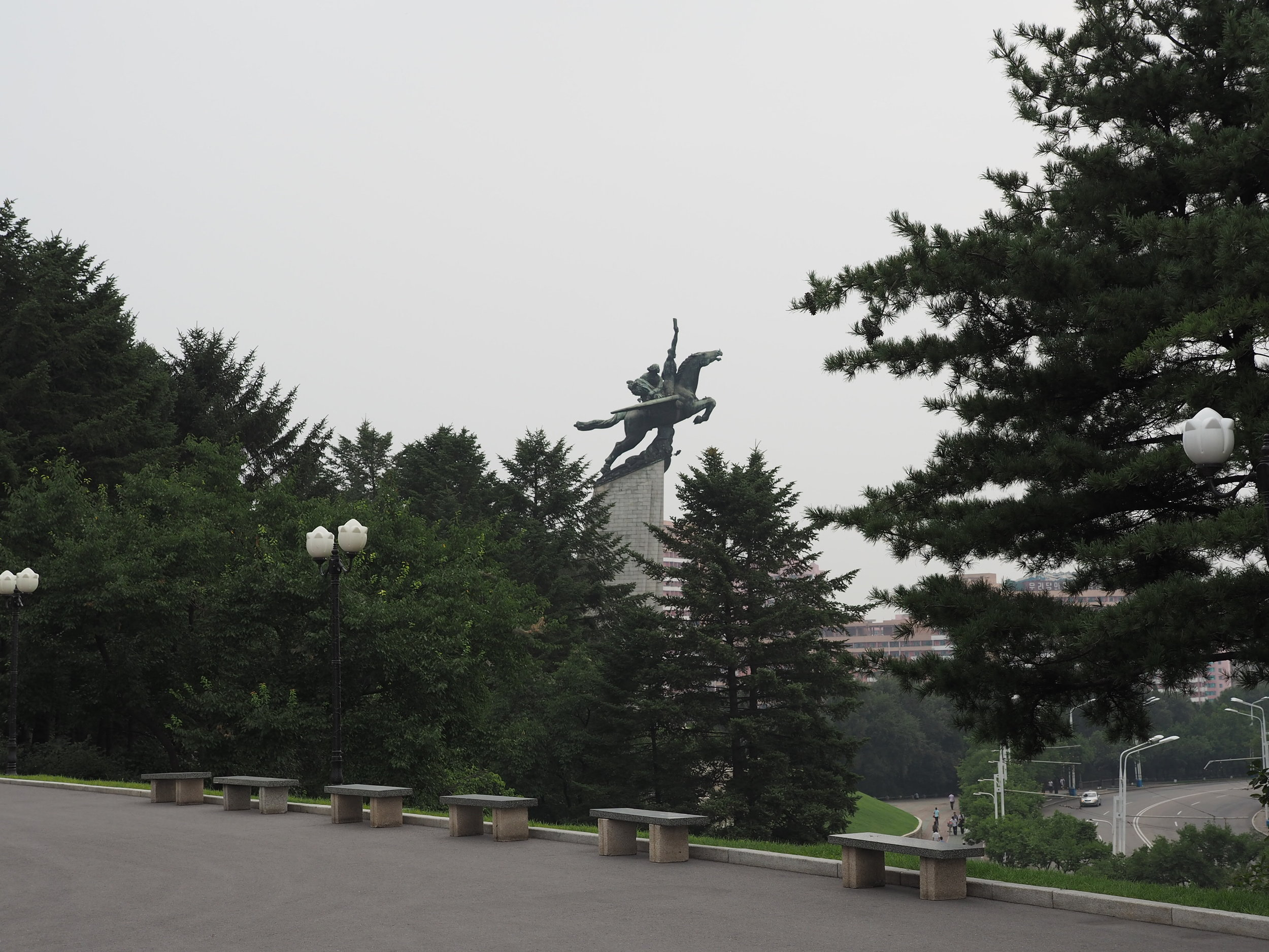 Chollima Monument