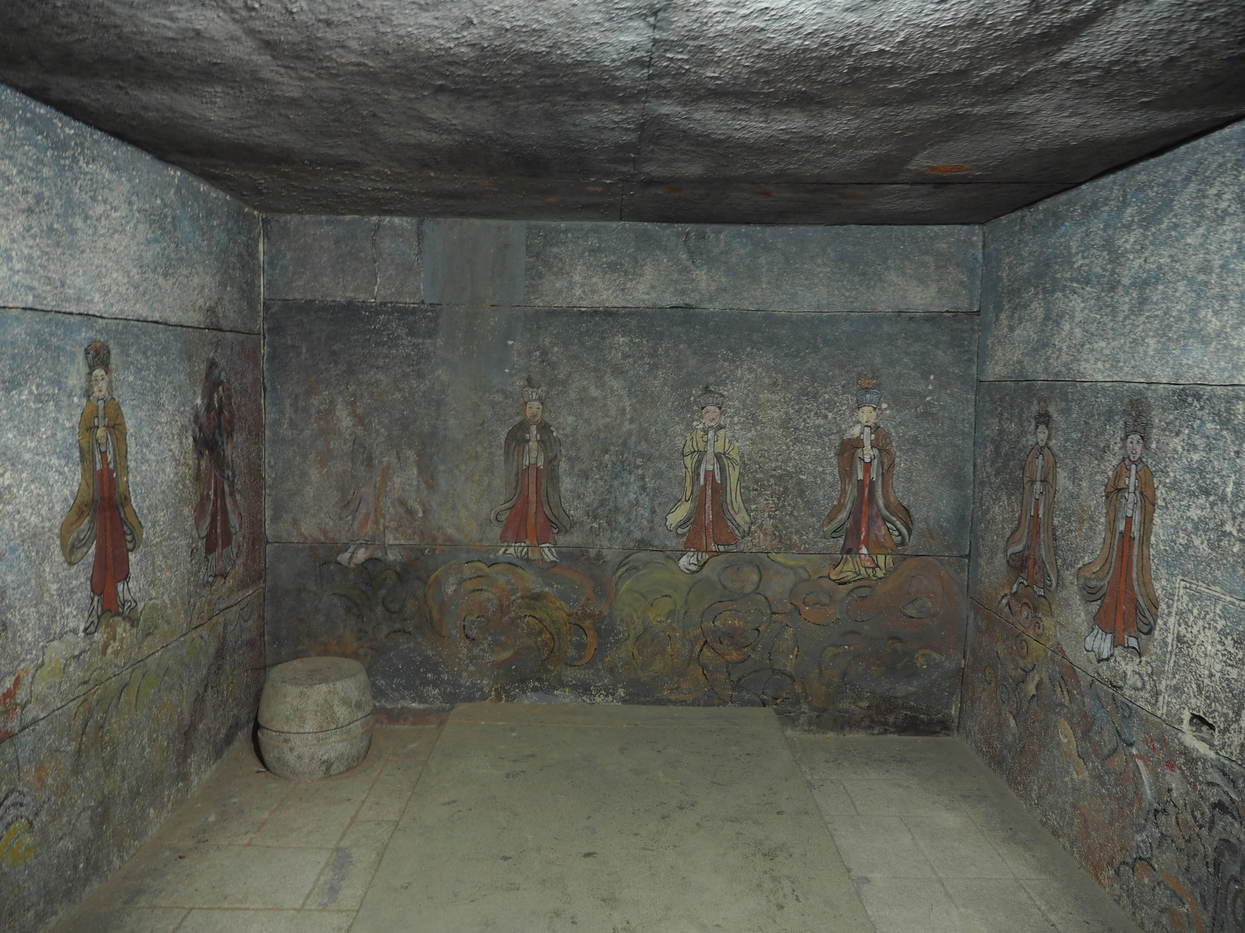 A replica of the King's tomb