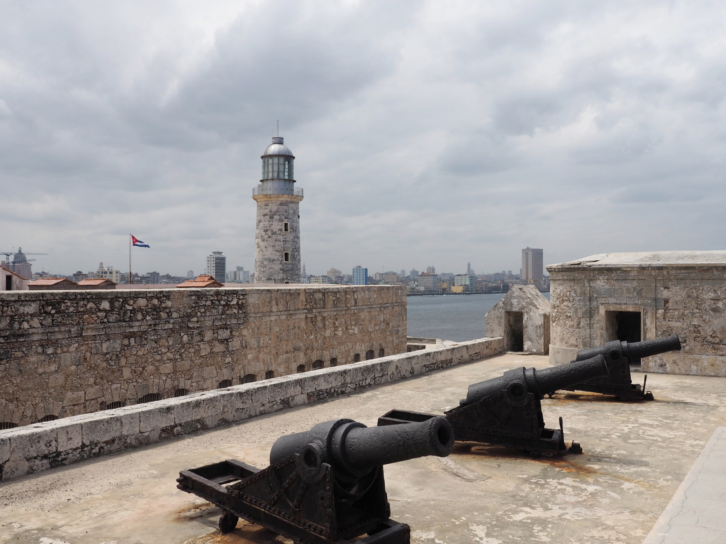 Cannons on top of El Morro