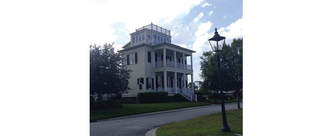 The Captain's Walk, The Ford Plantation