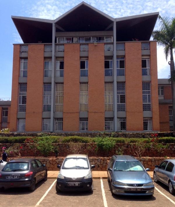 The campus of the University of Antananarivo