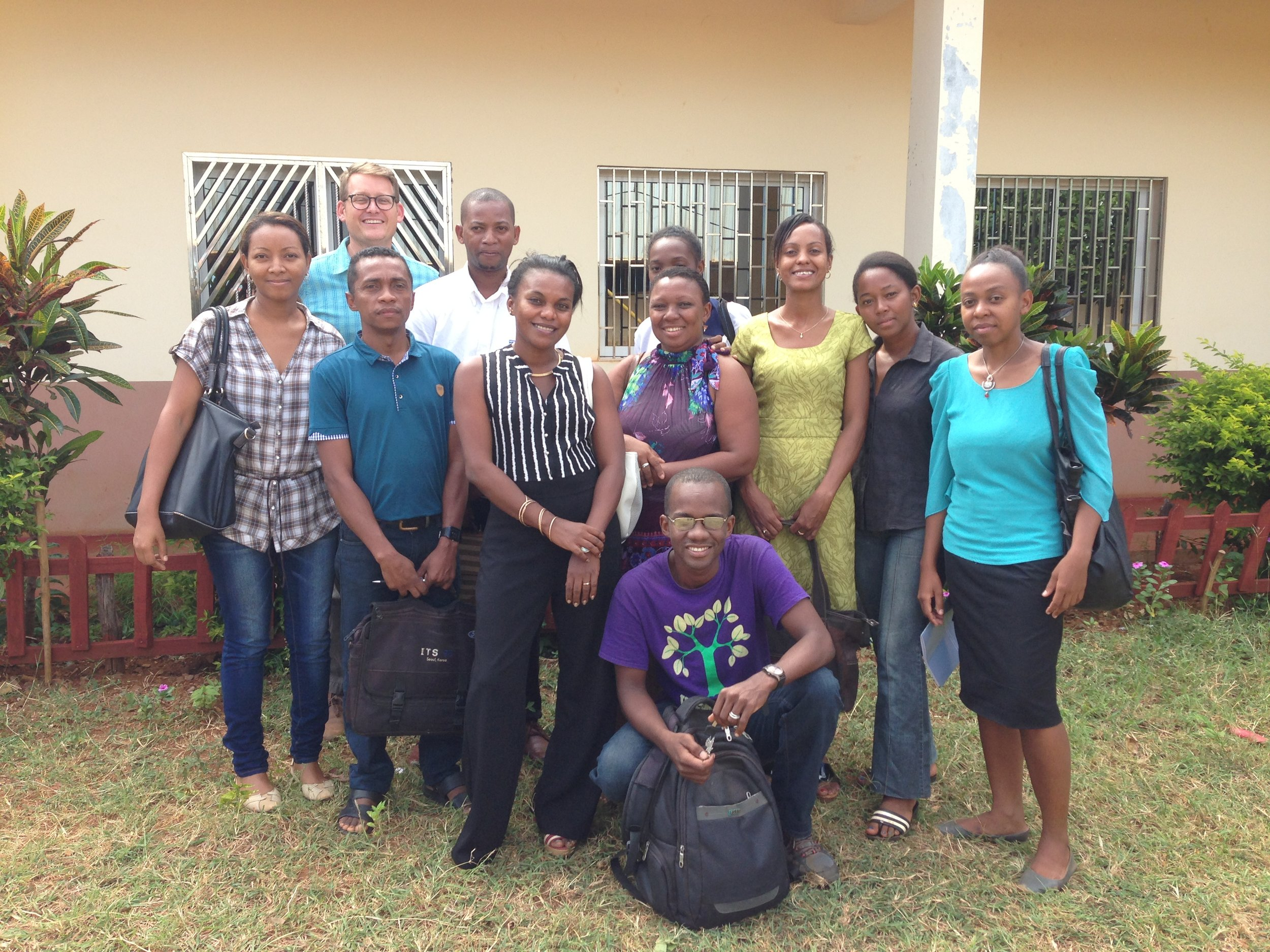 English Teachers at the University of Antsiranana
