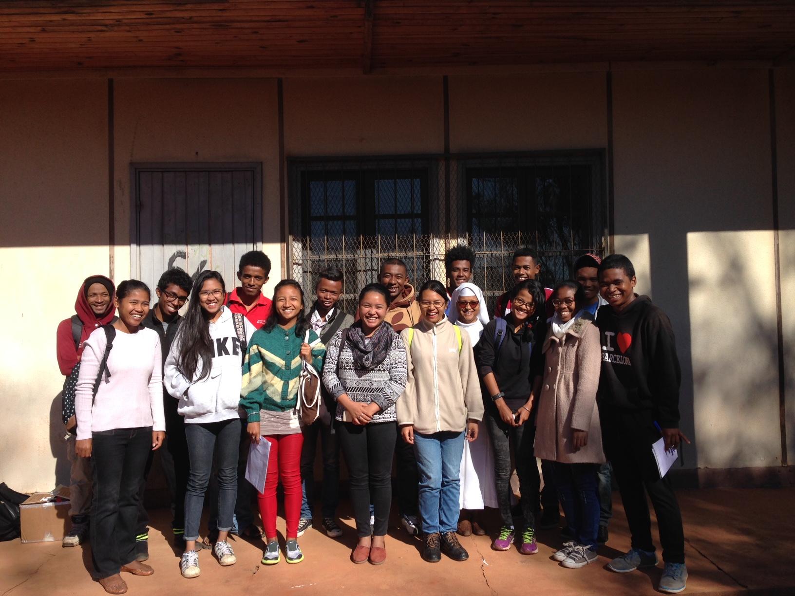Philosophy of Language Students at the University of Antananarivo