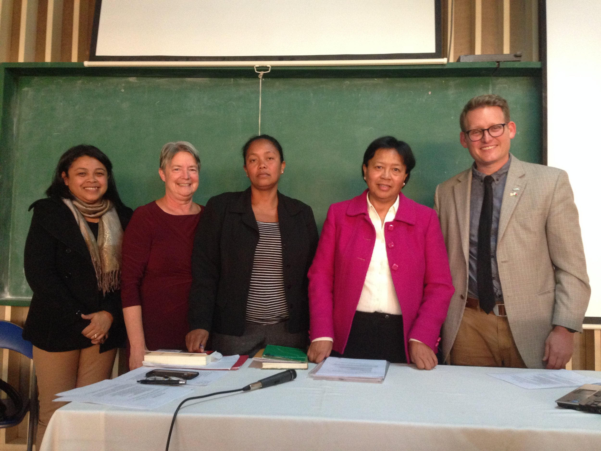 The presenters from the half-day of research event for Anglophone Studies