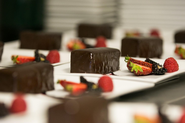 desserts for events vanilla pod