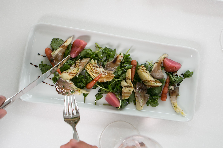 tuna plate - the vanilla pod restaurant