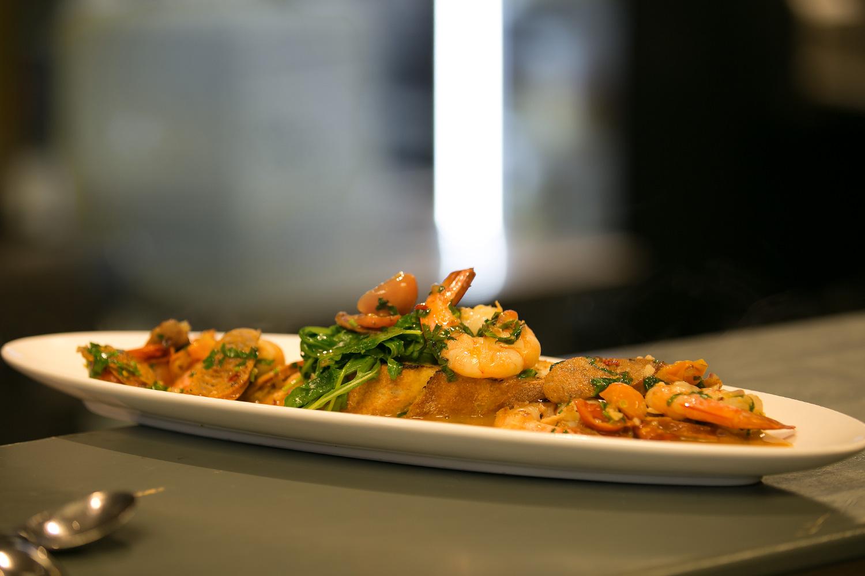 shrimp dish the Vanilla Pod