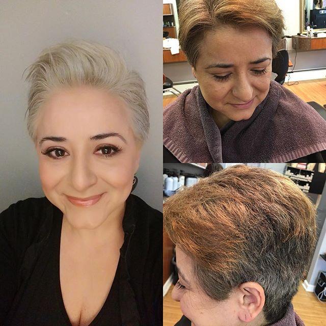 Platinum Blonde transformation  #jbeverlyhillscolour #platinumblonde #maxlightner#whitehairdontcare