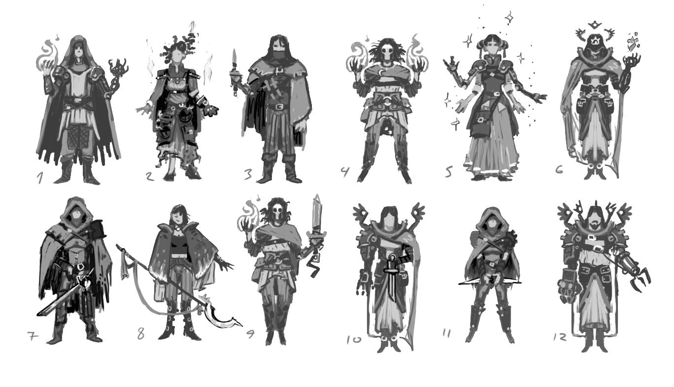 NPC theme concepts