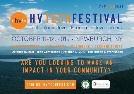"""Inaugural #HVTechFest #Hackathon, presented by AT&T, is just days away (October 12, 2019 @ The Mount Saint Mary College)  Developers, engineers, problem solvers, and designers from Hudson Valley come to Newburgh, NY, share ideas, form teams and build awesome projects.  SIGN UP TODAY: bit.ly/HVTechFest. Students are $5 only.  Food and swags included. Thanks to our sponsors AT&T, Mid-Hudson Valley Federal Credit Union, Docuware Corp Marist College Mount Saint Mary College  THEME — Education: Availability, Employability and Professional Sustainability  SCHEDULE  8:30am —  Doors open, Coffee 9:00-9:30 am - Opening Ceremony: Dr. Jason N. Adsit, Mount Saint Mary College President, Andrea Santacroce Tejedor  09:15-10:00am - Mini Hack to focus on a specific issue. Participants will engage in brainstorming and rapid """"virtual"""" prototyping. 10:00-11:00am - #Pitchfest & Team Development 10:30-4:00 - 'Building Time'. Over a few short hours, your team based hard work will be validated by available mentors to help prepare you to pitch your """"hack"""" to our panel of judges. 12:00 - Lunch  11:00-3:00 - Consultations with Mentors 12:30-2:00 - #Coding Classes with #VidCode founder Leandra Tejedor 10:00-2:00 - #CaptureTheFlag challenge 3:30 - submit your project!  4:00-5:00 - Presentations, Judging & Celebration 5-5:30 - Closing Ceremony $21,600 in prizes!  #techfestival #devfest #hudsonvalley #google #hackathon #tech"""
