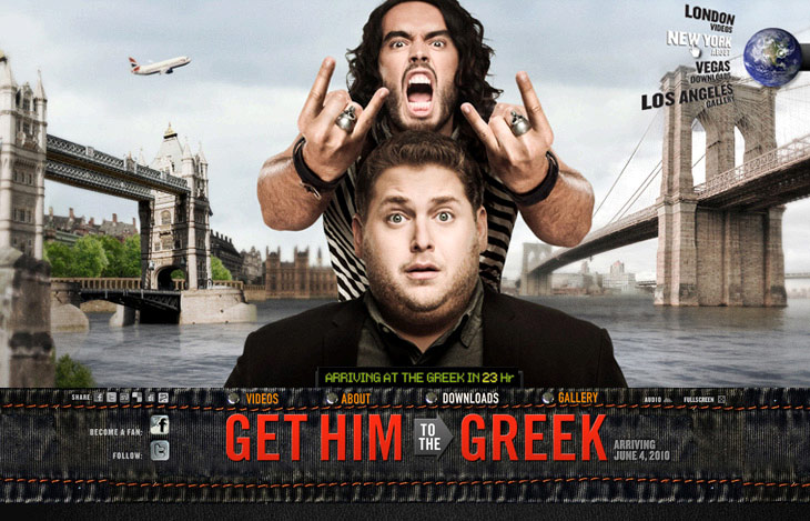 Puff Daddy's character sends Jonah Hill to bring Russell Brand from London to LA. Craziness ensues.