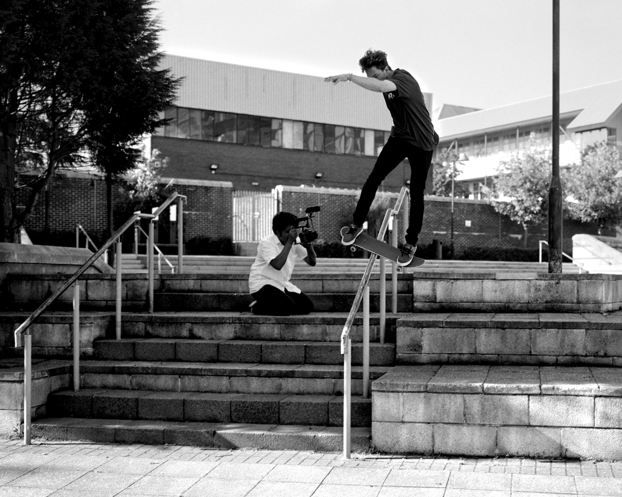 The Cougar - Fs Lipslide - Newcastle College.