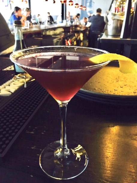 The Sparking Hope , created by Summit Grill expert bartenders for the Hope House happy hours.