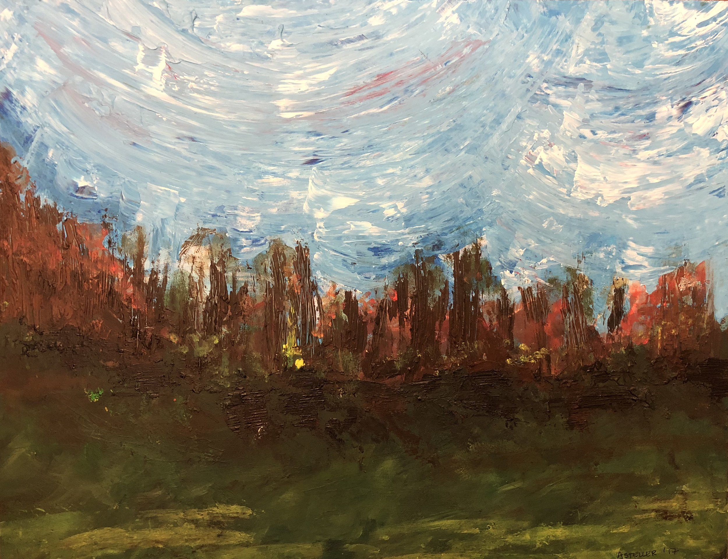 An impressionistic painting by Summit Christian Academy Freshman Ashlyn Steller was recently selected as the 2018 Senate Art Exhibit Winner for Missouri Senate District 8. The printed painting will be displayed at the Missouri State Capitol from February 1 through the end of the year.