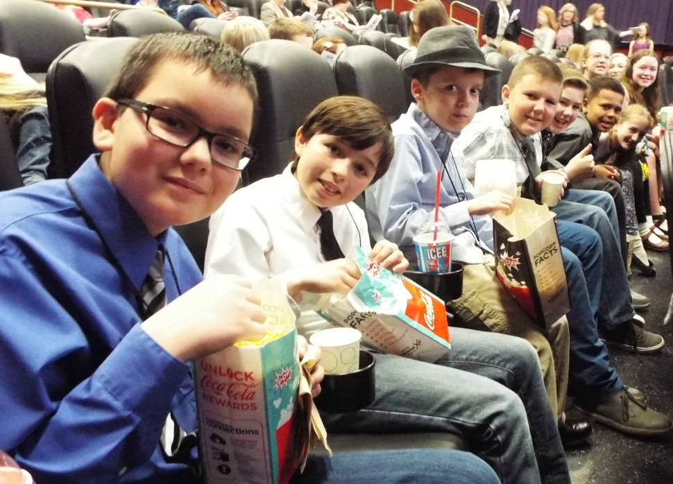 Lee's Summit R-7 students attend the Reel Spirit awards.